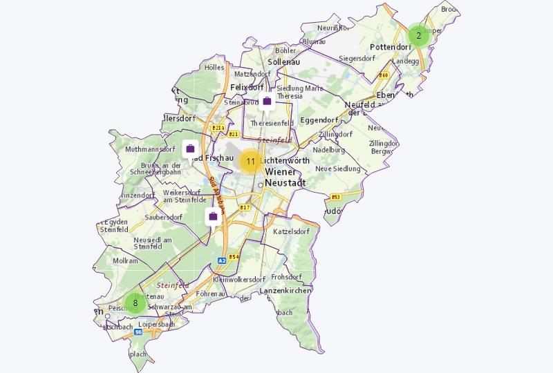 Grundstoffe in Steinfeld